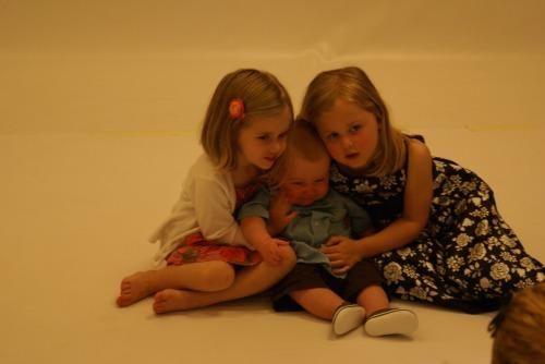 Lydia, Asa and Nora